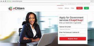 E-Citizen Portal in Kenya