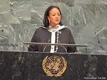 File Photo- Amb. Amina Mohammed at a past UN events