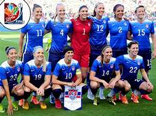 File photo- USA Women's soccer team