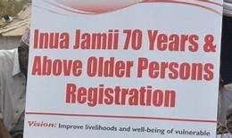 Inua jamii cash transfer programme in Kenya