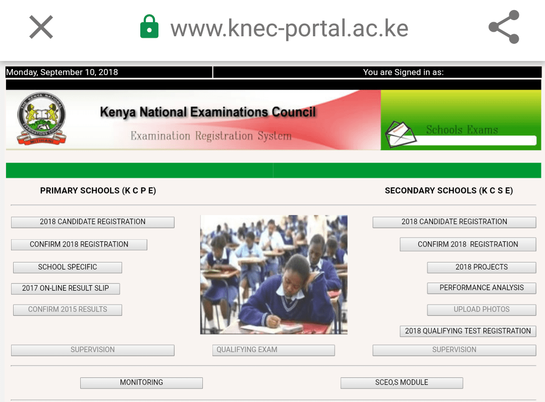 How to register grade 3 learners for the 2019 KEYA exams