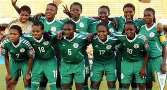 Nigeria's women soccer team