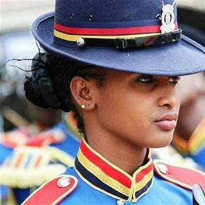 A Police officer in Kenya