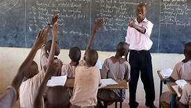 File photo- a teacher in class