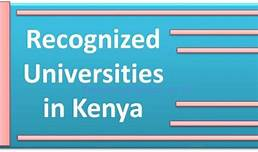 List of Accredited Universities and Colleges in Kenya