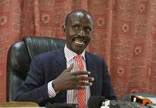 KNUT Secretary General, Wilson Sossion