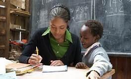 File Photo: A teacher in Class