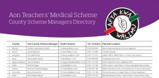 List of AON Minet medical cover accredited Hospitals, Contacts and how to register: Medical cover news