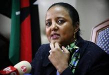 FILE PHOTO-Former Education CS and new Sports CS Designate, Dr Amina Mohammed.
