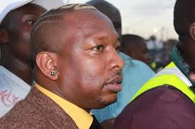 File Photo-Nairobi County Governor, Sonko