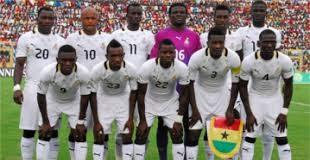 File- photo Ghana's football team, the Black stars