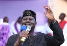 File photo- Hon. Raila Odinga A.