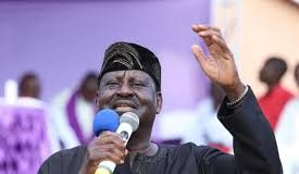 File photo- Hon. Raila Odinga A.