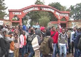 File photo- Thika Technical Training Institute
