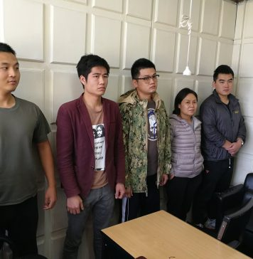 The 5 Chinese Nationals, arrested today