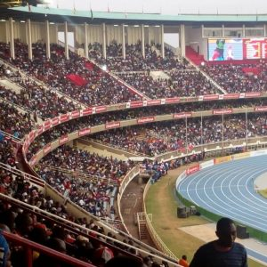Kasarani Stadium, Nairobi, almost full