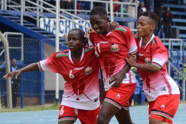 Harambee Starlets players at a past assignment (Image Courtesy)