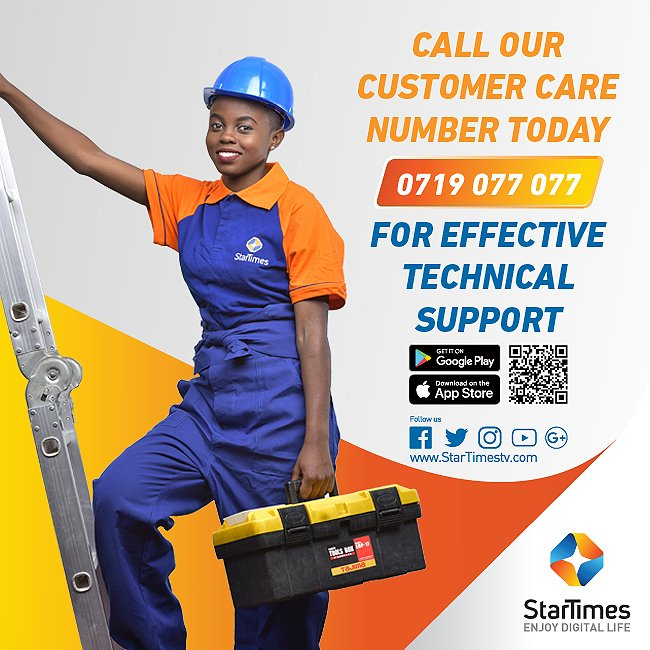 Star Times Kenya Customer Care Phone Number, Star Times