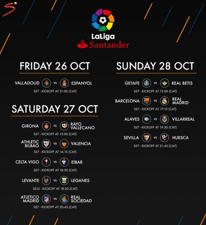 LaLiga Fixtures