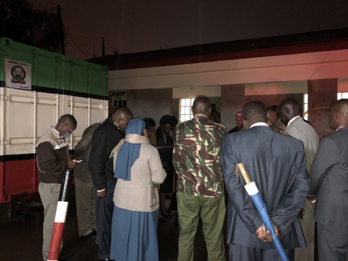 File Photo: Examination Container opening exercise