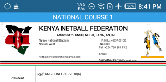 KNF National Training Course 2018