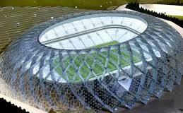 Soccer pitch in Qatar