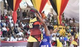 Towering ugandan Netballer