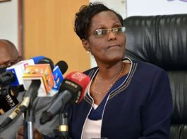 TSC Chair Dr Lydia Nzomo