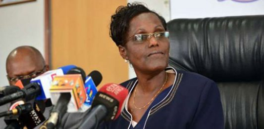 TSC Chair Dr Lydia Nzomo