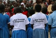 File Photo- UNFPA's Campaign to end teenage pregnancies in Kenya