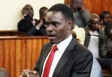 File photo- Lawyer Nelson Havi representing a client in a past case