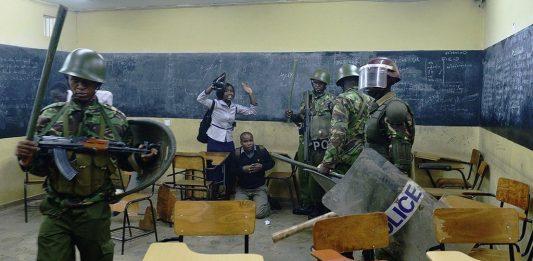 Police brutality against Maseno University students