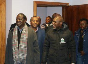 Courtesy call to Gor Mahia FC team by Hon. Raila Odinga
