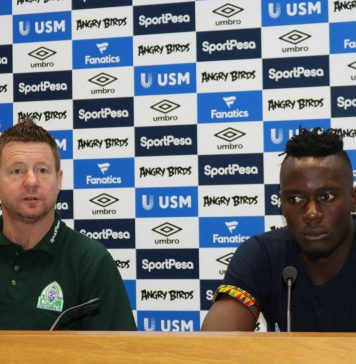 Press Conference attended by Gor Mahia officials