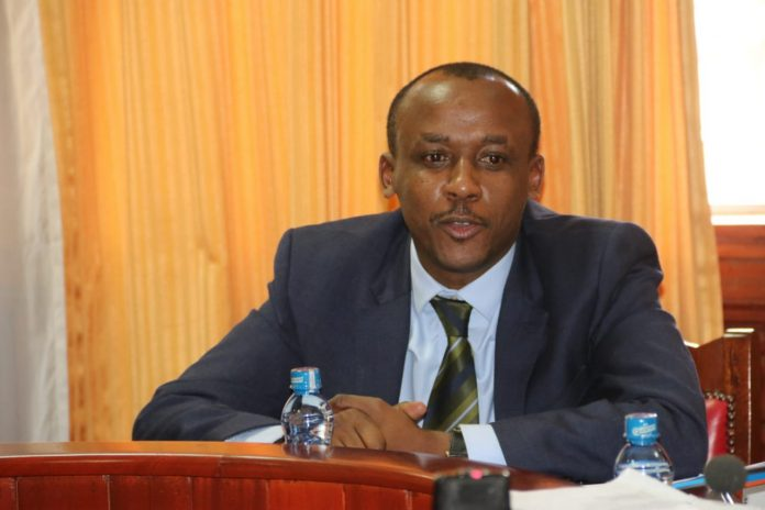 File Photo- Senator Mutula Kalonzo Junior. He wants action taken against the Principal of Mwaani secondary school for Mistreatment allegations against a form 4 candidate