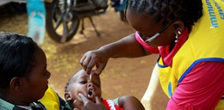 Polio Vaccination in Kenya