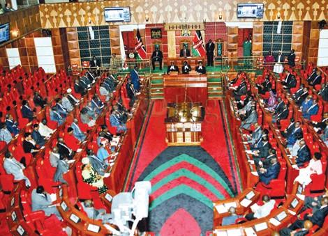 Kenyan Senate in Session
