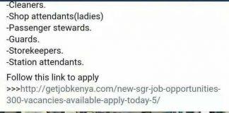 SGR Jobs Scam