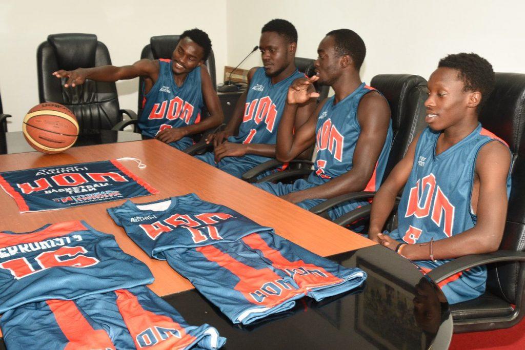 9957fb7dbb4 Photos- University of Nairobi's, UON, Basketball Team gets dazzling ...
