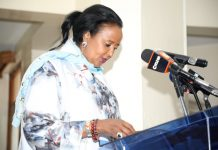 Education cabinet Minister, Dr amina Mohammed. The cabinet Secretary has announced tha rolling out of the New Competency Based Curriculum has been put on hold.