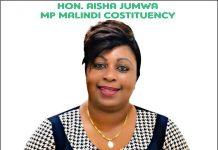 Photo- Hon Aisha Jumwa
