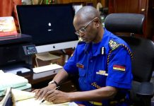 Inspector General of Police in new Uniforms