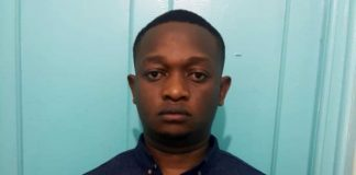 Leonard Munyaka Wambua- A dangerous house breaker and burglar arrested in Lang'ata, Nairobi, yesterday