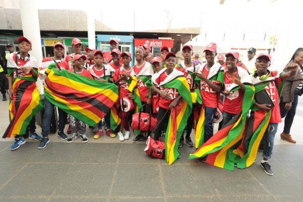 Photo- Zimbabwe boys Africa Copa Coca Cola 2018 Champioship representatives (Photo Courtesy of Zimbabwe Coca Cola)