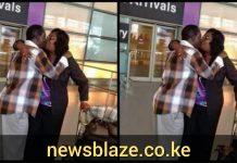 Hon Raila Odinga and wife, Ida