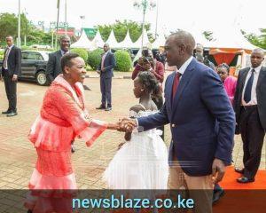 Hon William Ruto and his wife, Rachel