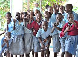 School going children in Kenya. The Ministry of education has extended the opening date for term one, 2019, by one day
