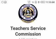 The Teachers Service Commission's Telegram Channel