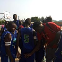 Sigalame Boys' basket ball team in action at this year's East Africa games in Musanze, Rwanda. Sigalame boys has produced the highest number of students with University direct entry grades