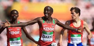 World Under-20 champion Edward Zakayo